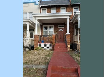 EasyRoommate US - Entire Basement Available in Row House Just off of H St./Atlas District Neighborhood, Kingman Park - $850 /mo