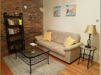 Furnished room available in Fenway area