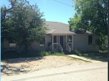 EasyRoommate US - $360 Sublet, March Move-in, Room in 3/2 House , San Marcos - $360 /mo