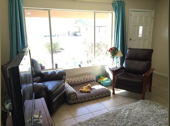 Room for rent in a 3 bedroom 2 bath house