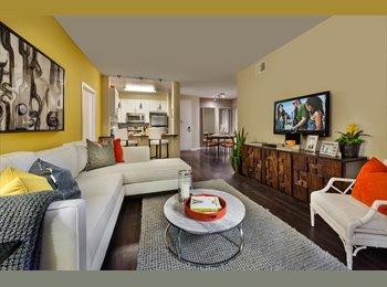 $1500 ROOM & BATHROOM OPEN in 2B/2BA Luxury Apt.