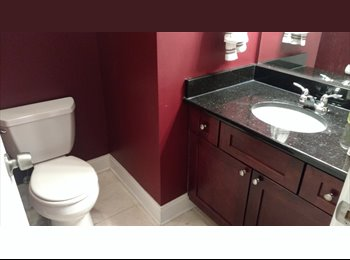 Room for rent in 2-floor apartment. 1min from California...