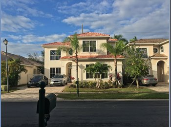 Room for rent in beautiful Boca Raton home.