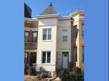 EasyRoommate US - Sunny room in Columbia Heights/Petworth rowhouse, Park View - $750 /mo