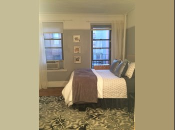 Large sunny room on the UES available immediately