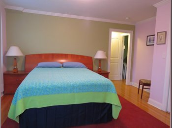 EasyRoommate US - Sunny furnished bedroom with private (in-suite) bathroom, Medford Street / The Neck - $1,200 /mo