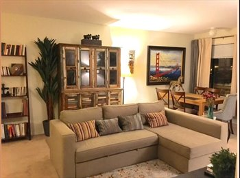 Peaceful Room in Spacious / Fully Equipped Apartment
