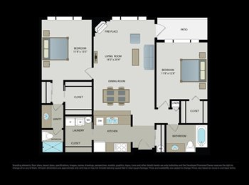 1B/1B available in a spacious 2BD/2BA apartment in Bellevue...