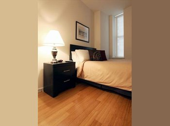 EasyRoommate US - Amazing Furnished Bright Spacious Room in 3br apartment. No fee., Hamilton Heights - $985 /mo