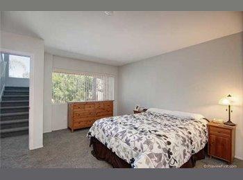 Private bedroom & bathroom in Central Carlsbad Condo