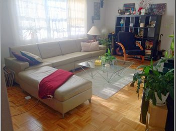 EasyRoommate US - Sunny & Spacious 1br in a 2br Apt. , Hyde Square - $1,000 /mo