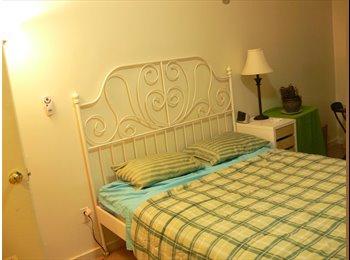 Lovely large furnished bedroom near Central Park
