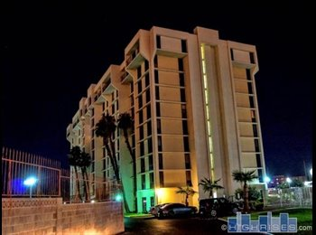 EasyRoommate US - Furnished Master Bedroom for Rent in 10 Story Highrise Gated Community, Paradise - $560 /mo