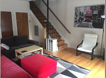 Ensuite room plus study in shared house with roof terrace...