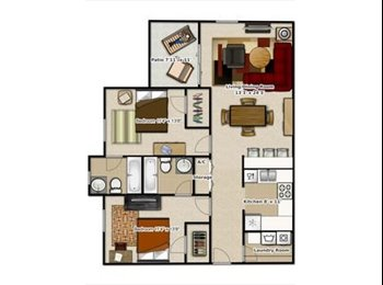 EasyRoommate US - Room sublease from May-July 2017, Gainesville - $425 /mo