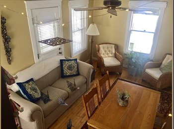 EasyRoommate US - All utilities included, one bedroom furnished in beautiful Portland house, North Deering - $800 /mo