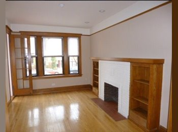 EasyRoommate US - Mid twenties female teacher living in lakeview looking for a roomie! , Roscoe Village - $920 /mo