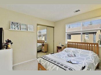 EasyRoommate US - Furnished room for rent across from BART, San Leandro - $1,300 /mo