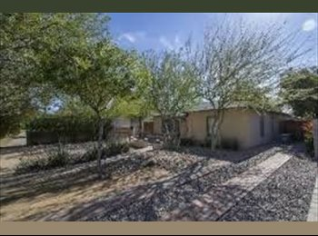 EasyRoommate US - TXT -Amazing room in Cent Phx House available ASAP! , Encanto Village - $800 /mo