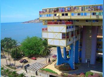 CompartoApto VE - Se alquila habitacion en Lecheria - El Hatillo, El Hatillo - BsF 25.000 por mes