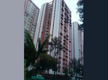 CompartoApto VE - SE ALQUILA AMPLIA HABITACION EL VALLE CARACAS AMOBLADA CON DERECHO A COCINAR, Caracas - BsF 30.000 por mes