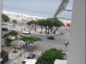 EasyQuarto BR -  AP ANPLO PERFEITO PARA ESTUDANTES E PROFICIONAIS - Copacabana, Rio de Janeiro (Capital) - R$3000