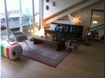 EasyWG CH - Furnished room in a beautiful lake view penthouse - Lausanne, Lausanne - CHF1800