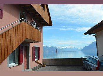 EasyWG CH - Chambre meublée, super Duplex, belle vue, confort - Lausanne, Lausanne - CHF800