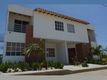 CompartoApto CO - comparto casa amoblada en santa marta - Santa Marta, Santa Marta - COP$*