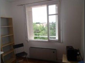 Appartager FR - A louer belle chambre meublée 10mn de la Fac - Bron, Lyon - €360
