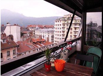 Appartager FR - colocation bel appartement hypercentre de Grenoble - Hyper-centre, Grenoble - €460