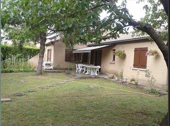 Appartager FR -  2 Chambres meublées pour étudiant(e) dans villa - Bourg-lès-Valence, Valence - €400