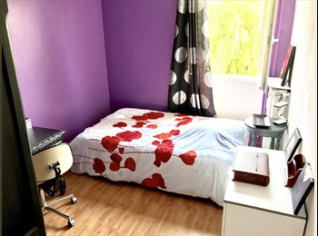 Appartager FR - Chambre privative (10m2) meublée - Hellemmes-Lille - Hellemmes-Lille, Lille - €450