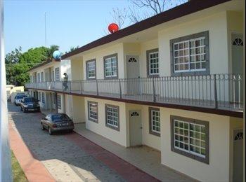 CompartoDepa MX - RENTA MODERNOS DEPARTAMENTOS - Villahermosa, Villahermosa - MX$3300