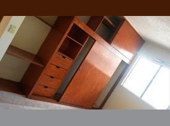 CompartoDepa MX - Renta de habitaciones amuebladas - Toluca, México - MX$1600