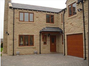 EasyRoommate UK - Double room with ensuite & walk in wardrobe - Ossett, Wakefield - £450