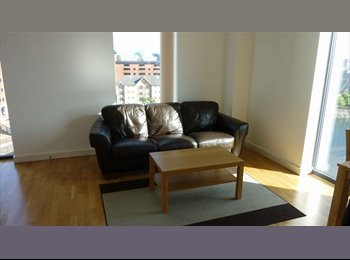 EasyRoommate UK - Luxury, quiet, river view one bed apartment - Salford Quays, Salford - £690