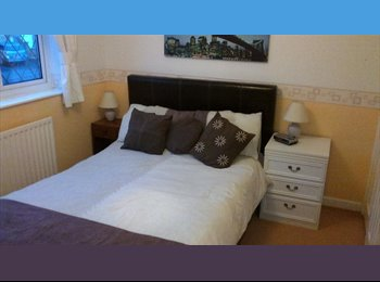 EasyRoommate UK - ROOM WITH SUPERKING BED AND PLENTY STORAGE - Creekmoor, Poole - £400