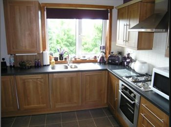 EasyRoommate UK - Double Room in Modern Flat with Balcony & Garden - Mansewood, Glasgow - £400