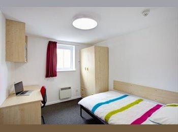 EasyRoommate UK - ATLANTIC POINT - 2 single rooms - 30 secs to LJMU - Vauxhall, Liverpool - £115