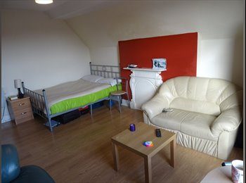 EasyRoommate UK - one big room/studio + complete bathroom - Anfield, Liverpool - £400