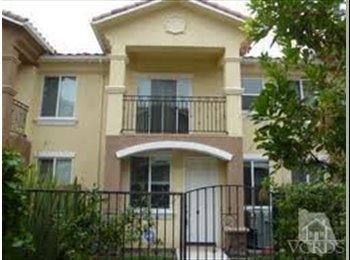 EasyRoommate US - Share a Beautiful, New, 4-Bdr. Townhome - Thousand Oaks, Ventura - Santa Barbara - $650