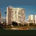 EasyRoommate US AWESOME Waikiki views Beautiful building 3bed/2ba - Oahu - $ 1200 per Month(s) - Image 1