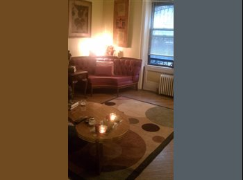 EasyRoommate US - Room Available in Park Slope Artists' Garden Apt. - Park Slope, New York City - $1250