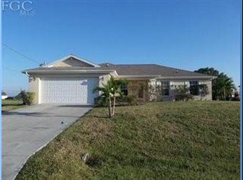 EasyRoommate US - QUIET HOME IN CAPE CORAL - Cape Coral, Other-Florida - $500