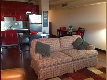 EasyRoommate US - Furnished condo in secure building - Gaston County, Charlotte Area - $850