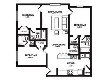 EasyRoommate US - Sngl Bdrm w/ Private bth for $439 (Spring Grdn) - Greensboro, Greensboro - $439