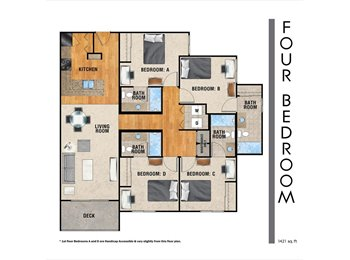 EasyRoommate US - $505 APARTMENT FOR RENT, THE RESERVE IN TYLER! - Tyler, Tyler - $505