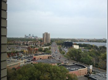 EasyRoommate US - CLEAN & RENOVATED Master 1Bed, private bath, VIEW! - Calhoun-Isles, Minneapolis / St Paul - $940
