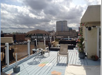EasyRoommate US - Private bed/bath, rooftop deck - Norfolk, Norfolk - $800